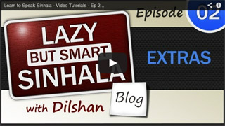 Sinhala Video Tutorial - Ep-02 Extras