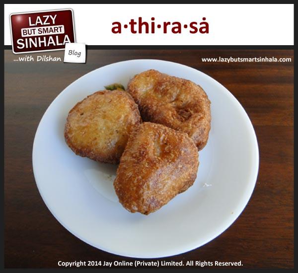 athirasa - sinhalese tamil new year