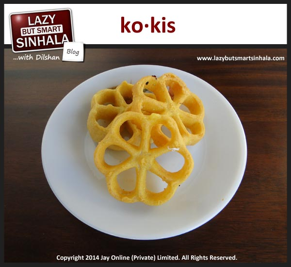 kokis - sinhalese tamil new year
