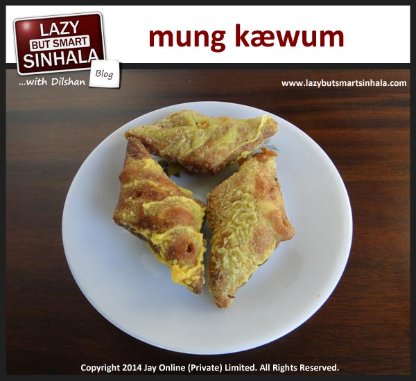 mung kaewum - sinhalese tamil new year