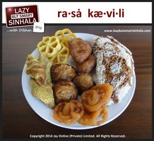 rasa kaevili - sinhalese tamil new year