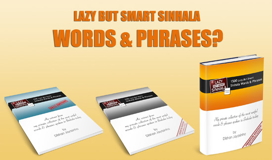 Mid Post Phrasebook Promo - Lazy But Smart Sinhala